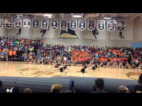 Foster High School Flairs Officer Pep Rally 9.4.15