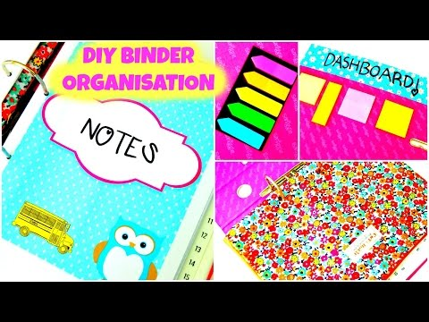 DIY: Organization Binder | How To Organize Your Binder & DIY TIPS! | BACK TO SCHOOL 2016