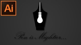 Yenilikçi bir Logo Oluşturma Adobe Illustrator CC Öğretici -