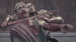 Assassin's Creed Odyssey - Athens Falls: Deimos Kills Perikles, Leaving Athens, Phoibe's Death
