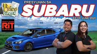 Subaru Pricelist Philippines 2020