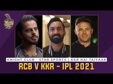 Knight Club - RCB v KKR IPL 2021   Star Sports   KKR Hai Taiyaar