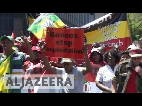 South Africa: Student protests gain union support