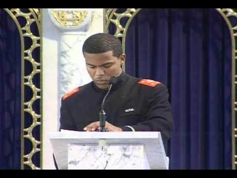Farrakhan's youth speak. Black Youth must unite!