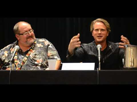 DragonCon 2014  Sunday  Cary Elwes' Walk on the Dark Side  Part 1 of 4