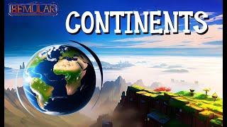 Bemular - Continents (Educational Kids Music & Video)