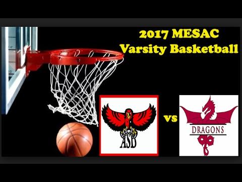 AS Dubai vs AS Doha DAY 1- MESAC Varsity Basketball 2017