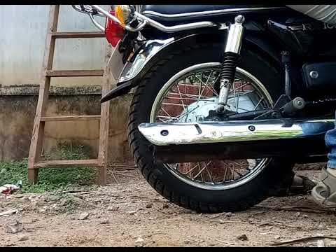 Rx 100 with CAT silencer