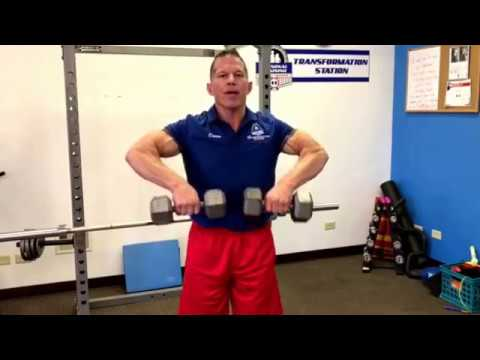 HOW TO DO DUMBBELL UPRIGHT ROWS TO BUILD MUSCLE | Darin's Exercise of the Week 007