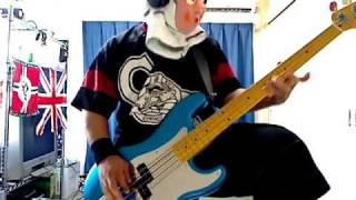 IRON MAIDEN LOSFER WORDS(BIG 'ORRA) BASS COVER