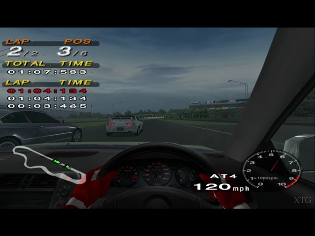Driving Emotion Type-S PS2 Gameplay HD (PCSX2)