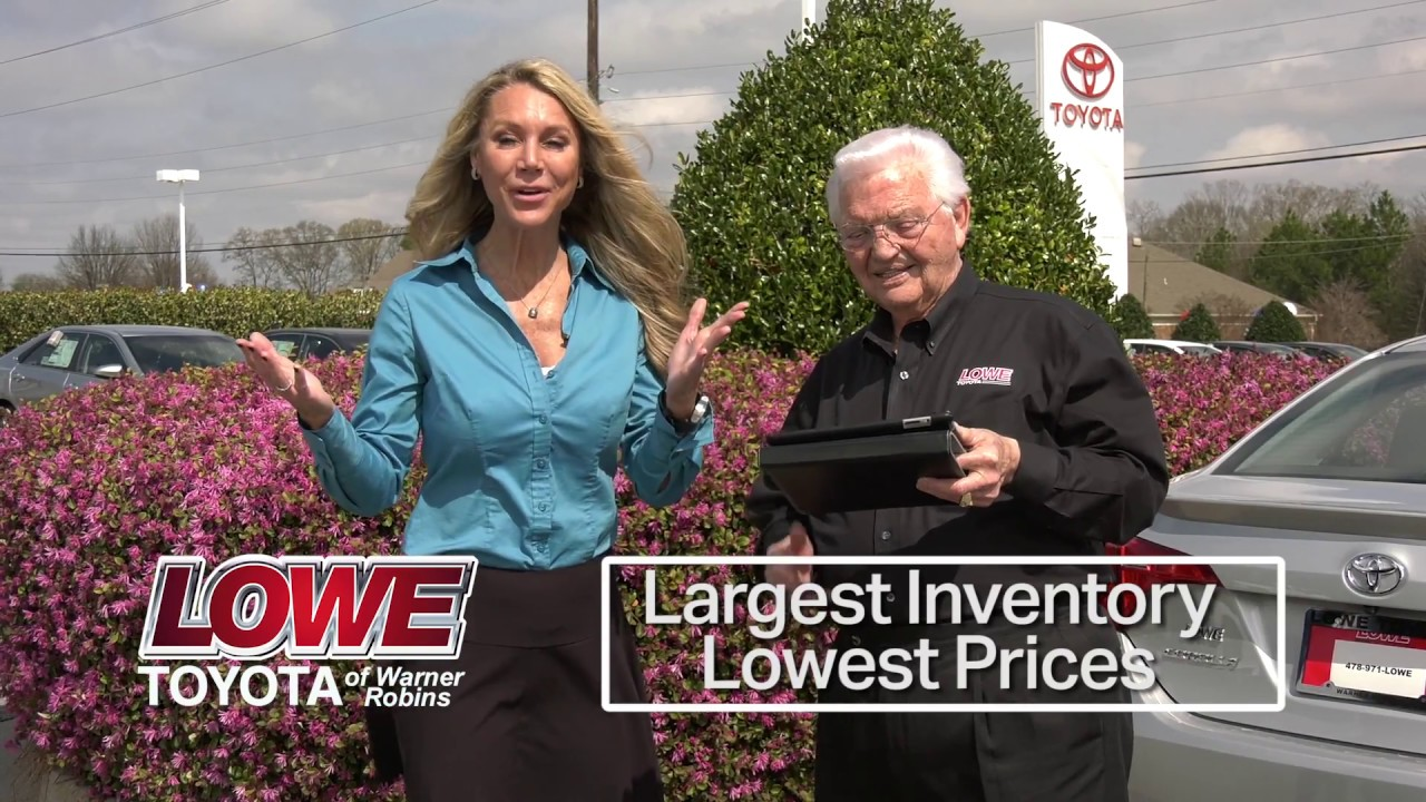lowe toyota of warner robins tv commerical the park group youtube. Black Bedroom Furniture Sets. Home Design Ideas