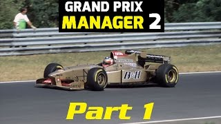 Grand Prix Manager 2: Jordan Career Mode - Part 1 - 'Starting The 1996 Season'