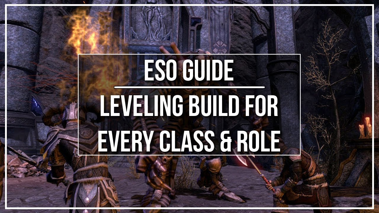 ESO Sorcerer Leveling Build - Dottz Gaming