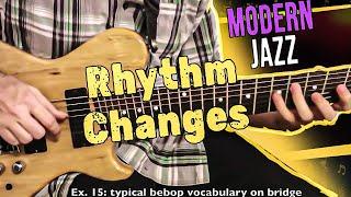 Rhythm Changes: Modern Jazz Guitar Approach pt. 1 | Tom Lippincott