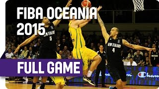 Tall Blacks (NZL) v Boomers (AUS) - Game 2 - Full Game - 2015 FIBA Oceania Championship thumbnail