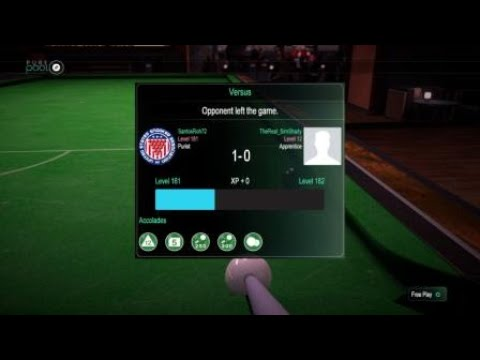 Pure Pool™,Snooker Master good game TheReal_SimShady.  