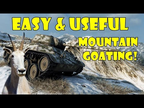 TOP 25 Easy & Useful Solo Climbing Spots in 9.18! (World of Tanks Mountain Goating)