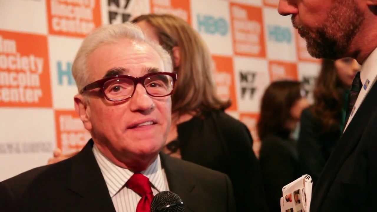Martin Scorsese at the 49th New York Film Festival