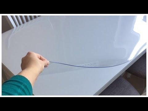Прозрачная защитная накладка на стол обзор