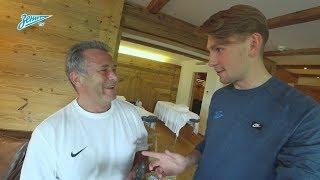 Видеоблог «Зенит-ТВ»: тотальный массаж, Халк в бане и лучшая история из жизни Кокорина