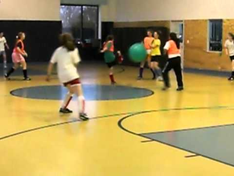 Dynamic Youth Fitness: Exercise Ball Soccer