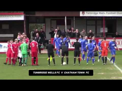 HIGHLIGHTS | TUNBRIDGE WELLS FC 1-1 CHATHAM TOWN FC - 7.4.18