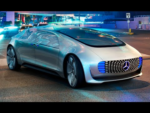 Mercedes F 015 Drives Itself To CES Las Vegas Mercedes Self Driving Car Commercial CARJAM TV 4K 2016