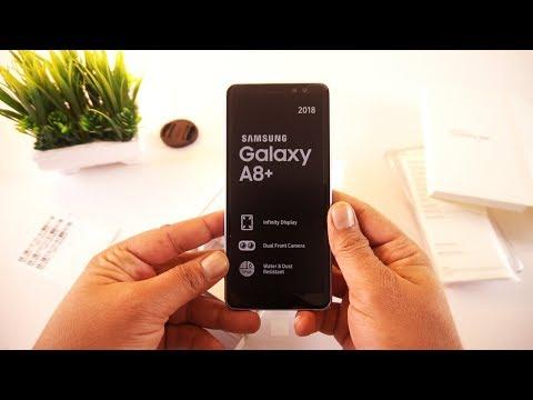 Samsung Galaxy A8 Plus Unboxing [Urdu/Hindi]
