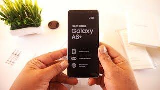 Samsung Galaxy A8 Plus 2018 Unboxing [Urdu/Hindi]
