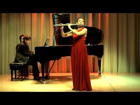 Poulenc Flute Sonata 1st Movement