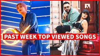 Global Past Week Most Viewed Songs on Youtube [20 September 2021]