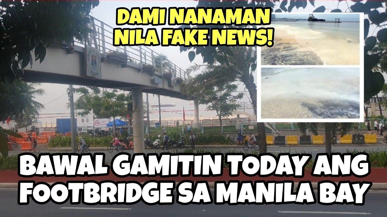 Download Bawal gamitin ang footbridge sa Manila Bay white sand today    Sept 26, 2020 Updates