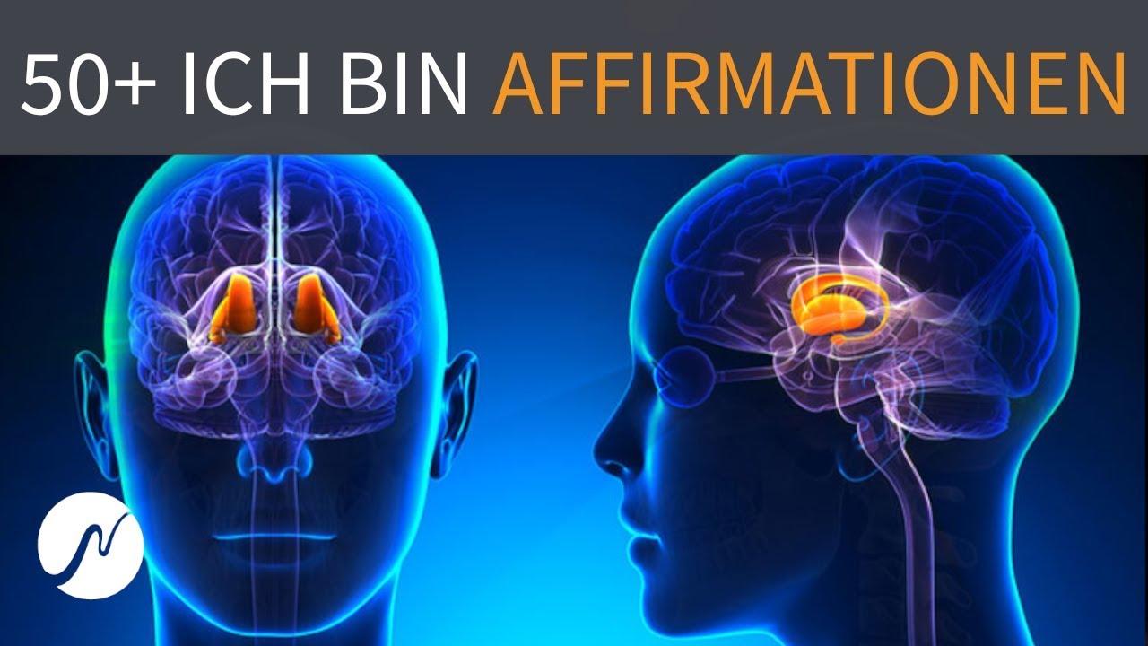 """50+ positive """"ICH BIN""""-Affirmationen (+ Frequenzen)"""