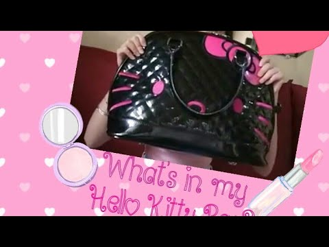 What's In My Hello Kitty Bag?