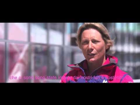 Ricevere parole di incoraggiamento fa bene a tutti. Le ragazze del Team SCA ci raccontano di come siano stati fondamentali i messaggi ricevuti proprio quando tutto sembrava andare male. Segui con noi la loro fantastica avventura di una delle regate più impegnative di sempre, la Volvo Ocean Race 2014/2015.     Facebook: https://www.facebook.com/Nuvenia  Twitter: https://twitter.com/nuvenia