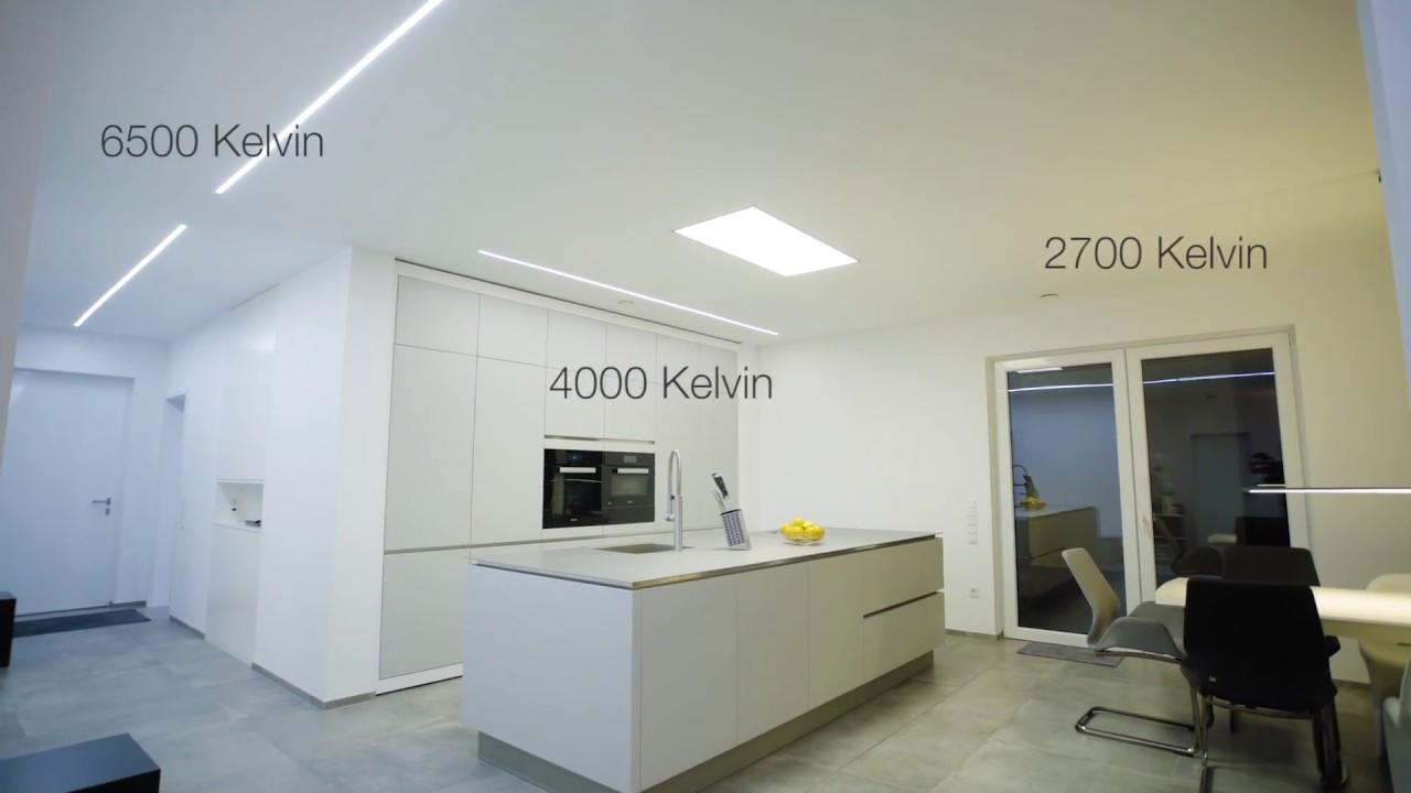 Led Raumbeleuchtung Design : Led beleuchtung von ledissimo einfamilienhaus youtube