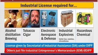 L5/P3: Industrial Sector: Policies, Licenses, MSME Types, Mudra Bank,AIM,SETU