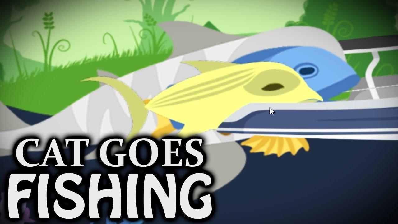 Huge Haul Cat Goes Fishing Youtube