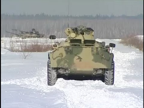 BTR-82A APC In Action