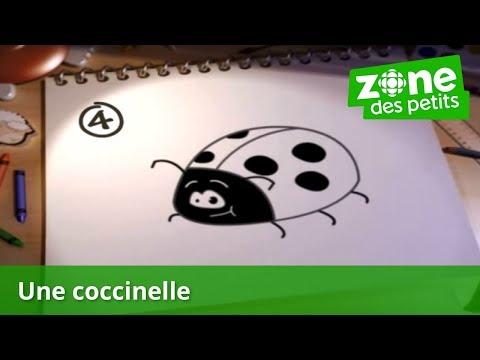 Je dessine une coccinelle youtube - Dessiner une coccinelle ...