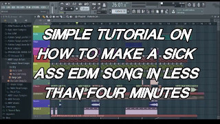 HOW TO MAKE EDM BANGER IN LESS THAN 5 MINUTES!!! prod. MK BEATS Video