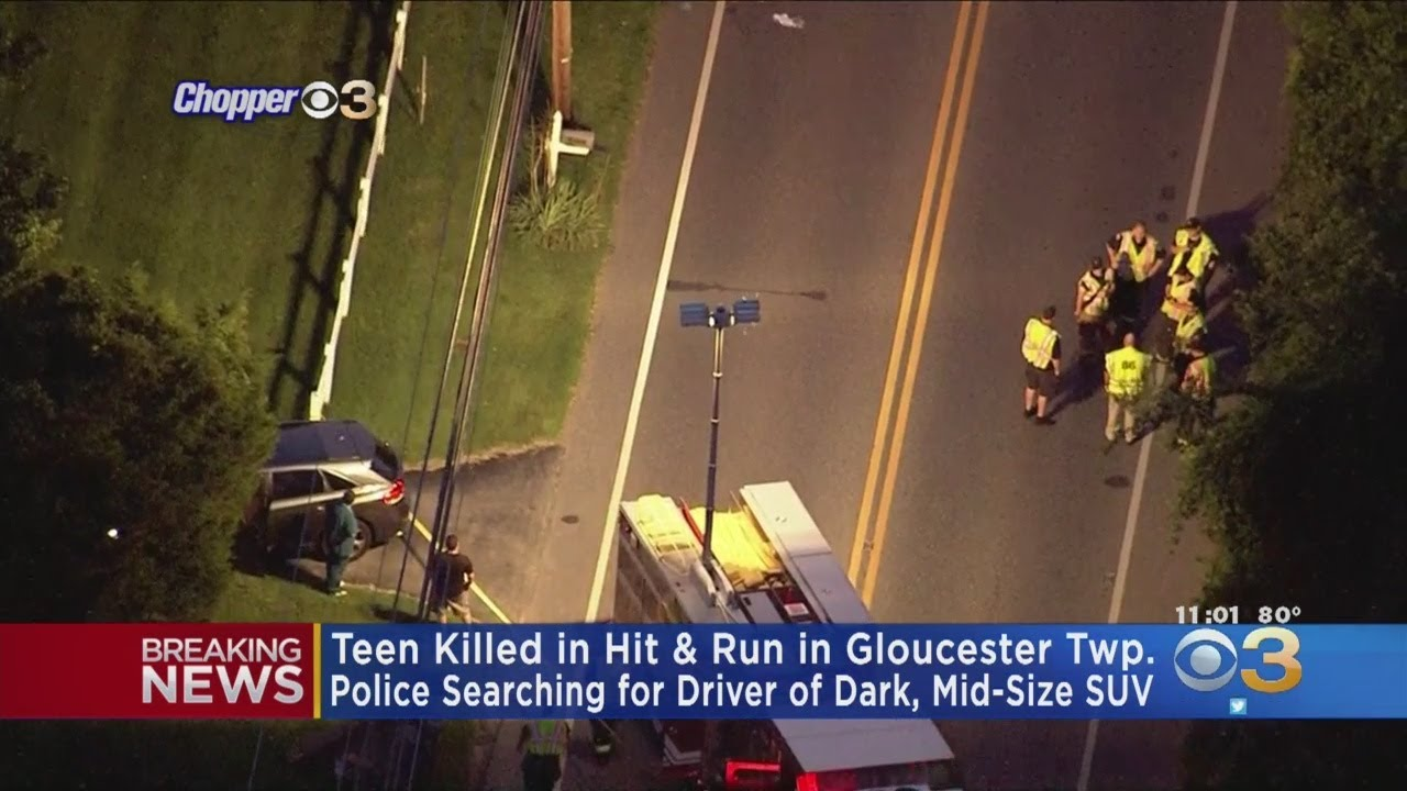 Teen Killed In Gloucester Township Hit-And-Run, Police Say