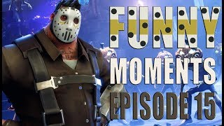 Funny And Lucky Moments - Fortnite Battle Royale - Ep.15
