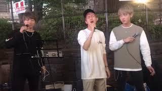 三浦風雅✖  杉田ゆういちろう(Snugs)✖️Kenshin 合同路上ライブ 2019.5.1...