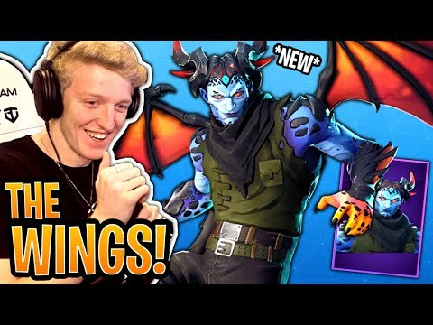 Tfue BUYS & Reacts to the *NEW* Malcore Skin & Evil Eye Pickaxe! - Fortnite Moments thumbnail