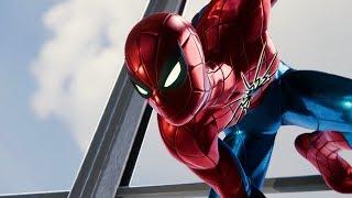 Spider-Man vs Wilson Fisk (Spider Armor Mark 4 Suit Gameplay) - Marvel