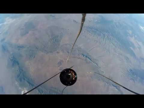 Cohete Amateur lanzado al espacio miren lo que pasa a los 120 kilómetros