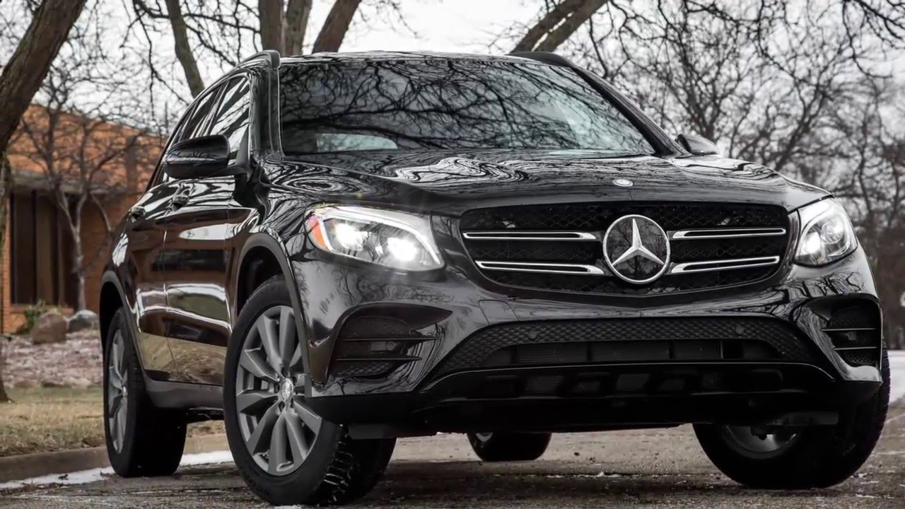 2017 Mercedes Benz Glc300 And The 4matic Tested Here Weighed 275 128 Pounds