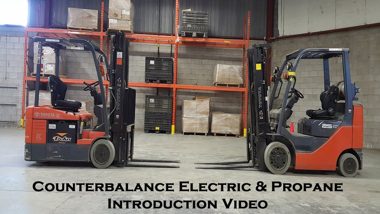 How to counterbalance electric and propane forklift introduction how to counterbalance electric and propane forklift introduction xflitez Image collections
